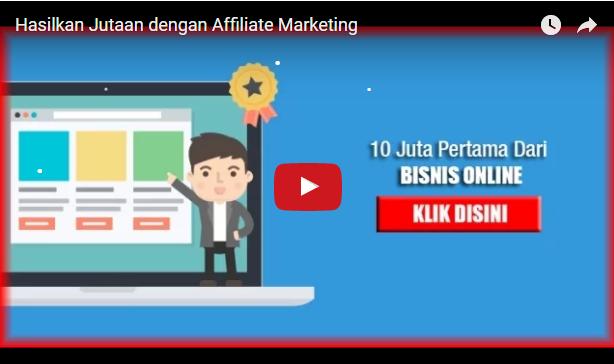 Belajar Affiliate Marketing, daftar gratis & dapat hasil Jutaan