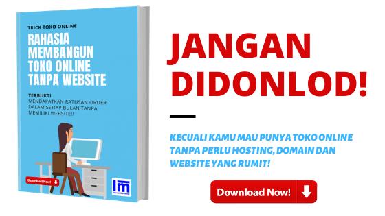 toko online tanpa website